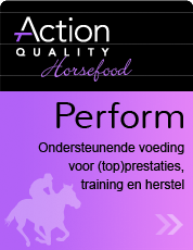 perform action quality horsefood label